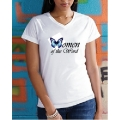Ladies Women of the Word V-Neck T-Shirt